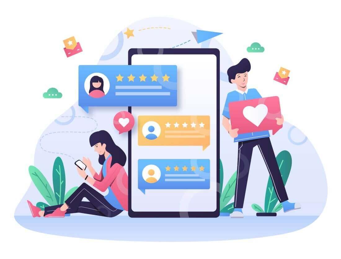 riprova sociale attraverso le recensioni
